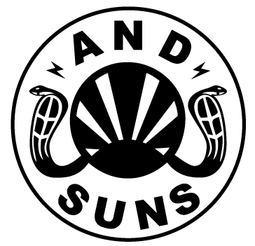And SUNS: Brand with unique eye-catching graphic design