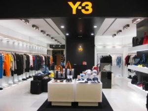 Y-3 Tokyo Shinjuku Takashimaya
