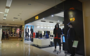Y-3 西武渋谷店