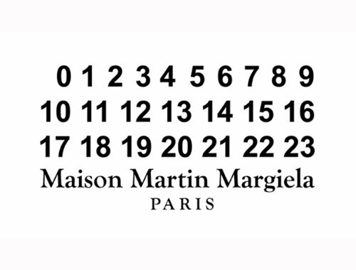 Maison Margiela, one of the most influential names in fashion.