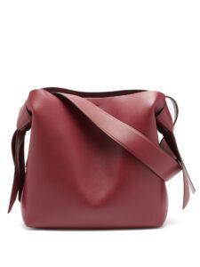 ユニークな形のバック「Musubi bag」
